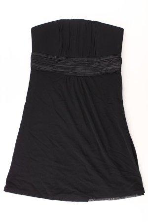 s.Oliver Bandeau Dress black cotton
