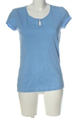 s.Oliver Basic-Shirt blau Casual-Look