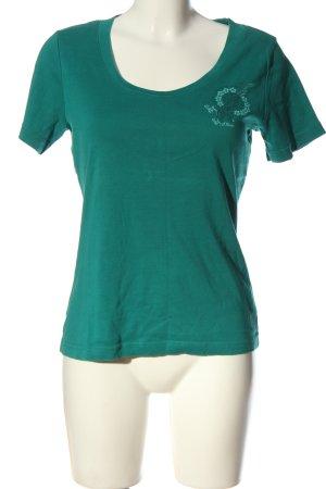 s.Oliver Basic-Shirt grün Casual-Look