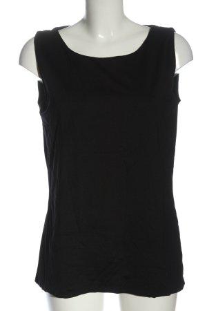 s.Oliver Basic topje zwart casual uitstraling
