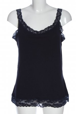s.Oliver Basic topje blauw casual uitstraling
