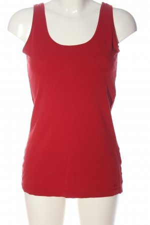 s.Oliver Basic topje rood casual uitstraling
