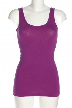s.Oliver Basic Top lila Casual-Look