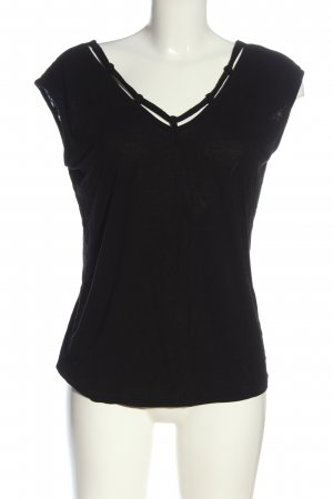s.Oliver Basic Top schwarz Casual-Look