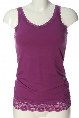 s.Oliver Basic topje roze casual uitstraling