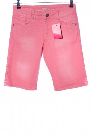 s.Oliver Bermuda roze casual uitstraling
