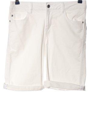 s.Oliver Bermudy w kolorze białej wełny W stylu casual