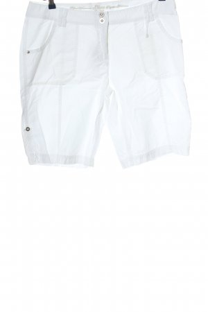 s.Oliver Bermudy biały W stylu casual