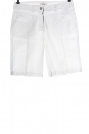 s.Oliver Bermudas white casual look