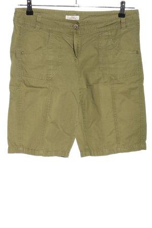 s.Oliver Bermudy khaki W stylu casual