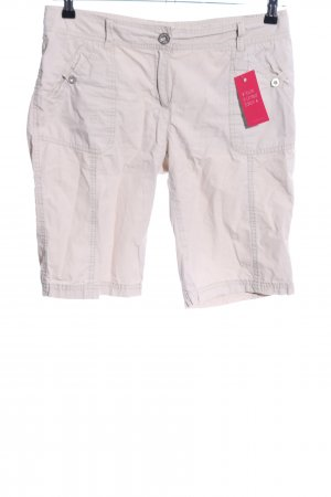 s.Oliver Bermudas natural white casual look