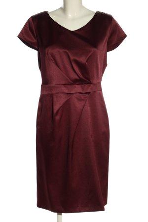 s.Oliver Black Label Abendkleid rot Glanz-Optik
