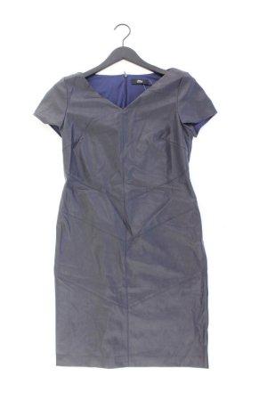 s.Oliver Black Label Etuikleid Größe 38 Kurzarm blau aus Polyester