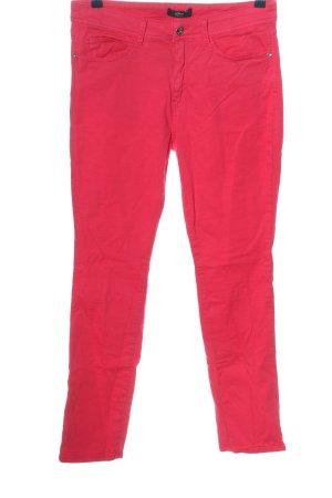 s.Oliver Black Label Pantalón de cinco bolsillos rojo look casual