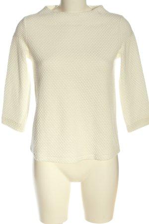 s.Oliver Black Label Jersey de punto grueso blanco look casual