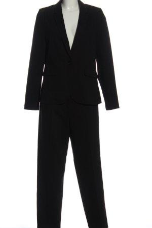 s.Oliver Black Label Tailleur-pantalon noir élégant