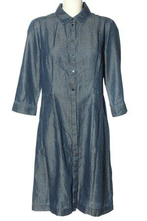 s.Oliver Black Label Jeanskleid blau Business-Look