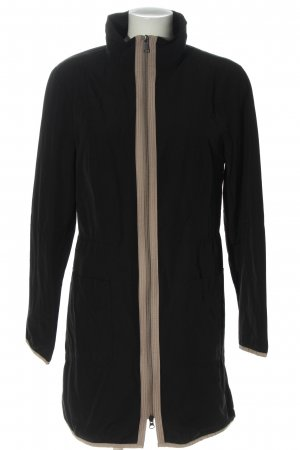 s.Oliver Black Label Long Jacket black-cream casual look