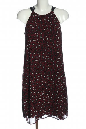 s.Oliver Black Label Chiffon Dress red allover print elegant