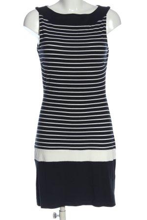 s.Oliver Black Label Minikleid blau-weiß Streifenmuster Casual-Look