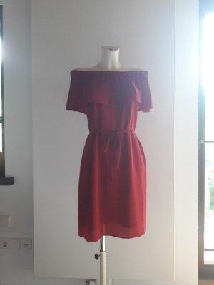 s.Oliver Black Label schulterfreies Kleid Sommerkleid Off Shoulder Kleid