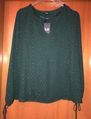 s.Oliver Black Label Tunika Bluse grün 40 Neu m. Etikett