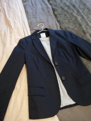 s.Oliver Blazer de esmoquin azul acero