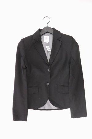s.Oliver Blazer Größe 34 schwarz aus Polyester