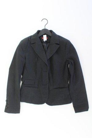 s.Oliver Blazer Größe 38 gestreift schwarz aus Baumwolle