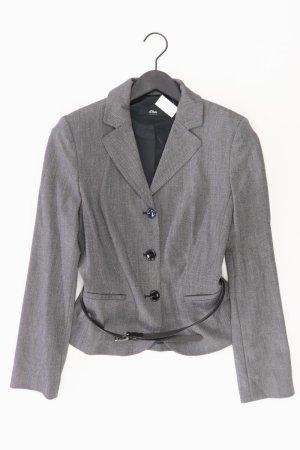 s.Oliver Blazer Größe 38 mit Gürtel grau aus Polyester