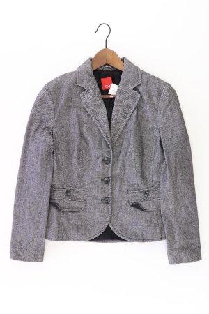 s.Oliver Blazer Größe 40 grau aus Baumwolle
