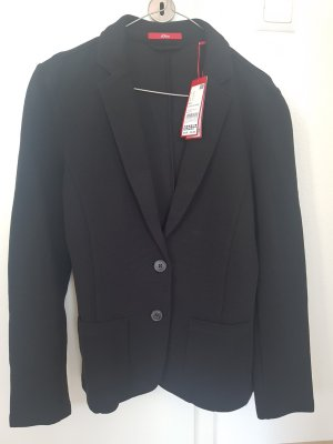 s.Oliver Sweat Blazer black