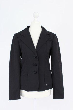 Anastacia by s.Oliver Blazer en jersey noir polyester