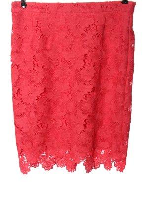 s.Oliver Pencil Skirt red elegant