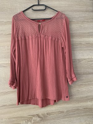 s.Oliver Long Sleeve Blouse salmon