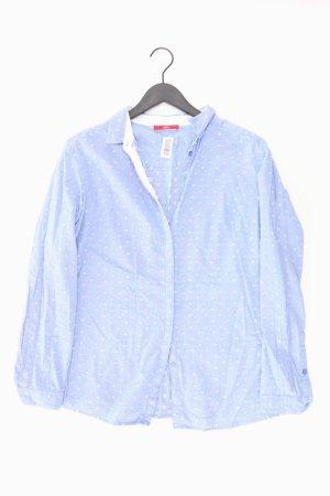 s.Oliver Bluse blau gepunktet Größe XL