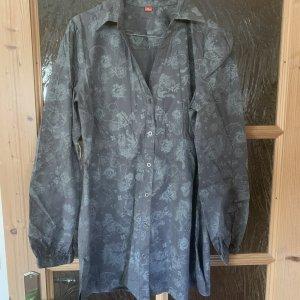 S.oliver Bluse für Damen grau gemustert Gr.40 (Wie neu)