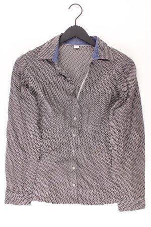 s.Oliver Bluse Größe 40 grau aus Baumwolle