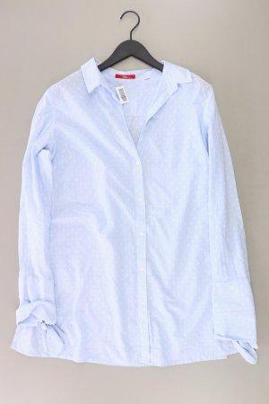 s.Oliver Bluse Größe 44 gepunktet neuwertig blau aus Baumwolle