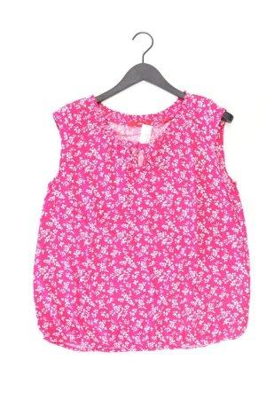 s.Oliver Bluse pink Blumenmuster Größe 44