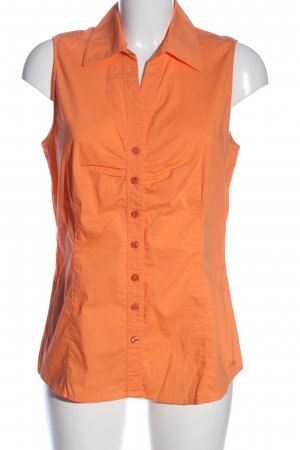 s.Oliver Blouse topje licht Oranje casual uitstraling