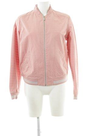 s.Oliver Bomberjacke pink-weiß Casual-Look