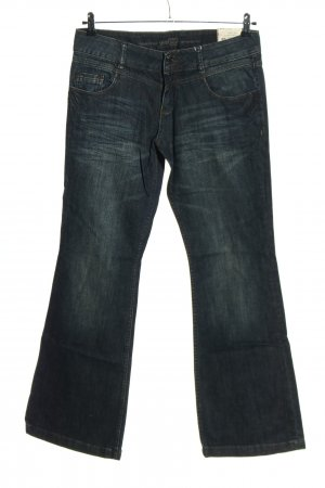 s.Oliver Boot Cut Jeans blue cotton