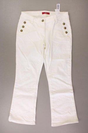 s.Oliver Boot Cut Jeans Größe 36 creme aus Baumwolle