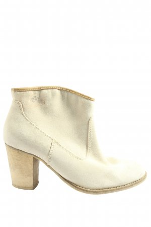 s.Oliver Booties wollweiß Casual-Look