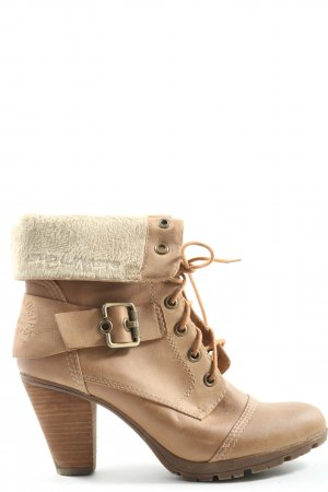 s.Oliver Booties nude-wollweiß Casual-Look