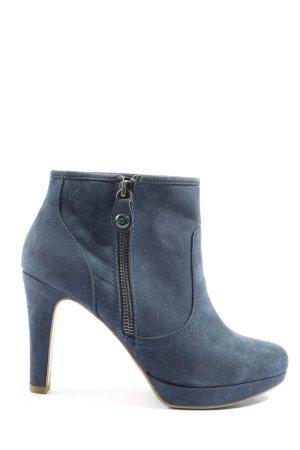 s.Oliver Booties blau Casual-Look
