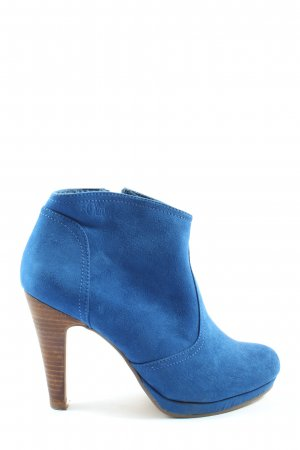 s.Oliver Booties blau Casual-Look