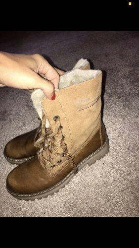 s.Oliver Aanrijg laarzen bruin
