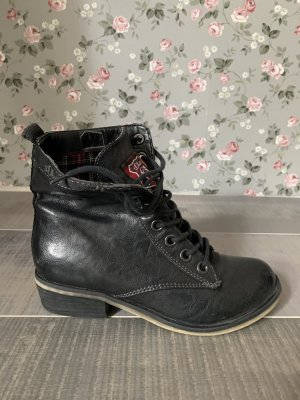S.Oliver Boots Schnürstiefeletten schwarz Gr. 36